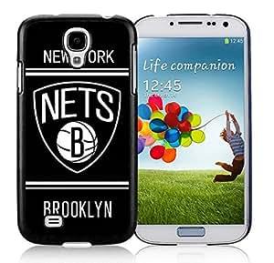 New Custom Design Cover Case For Samsung Galaxy S4 I9500 i337 M919 i545 r970 l720 Brooklyn Nets 10 Black Phone Case