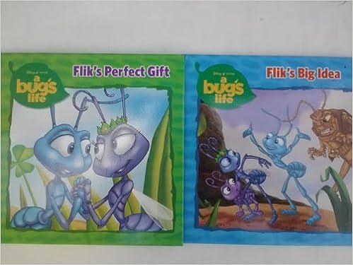 A Bug S Life 2 Pack Flik S Big Idea Flik S Perfect Gift Judy Katschke Amazon Com Books