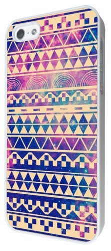 iphone 5 5S Aztec Ornate Hispter Hippie Fashion Aztec Trend Design Hülle Case Back Cover Metall und Kunststoff