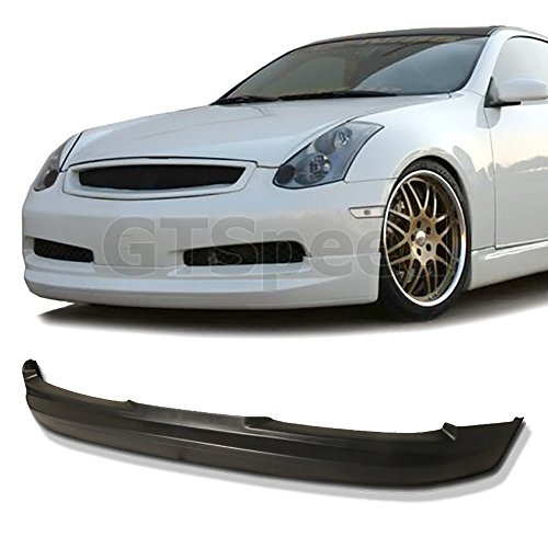 NEW - 03-06 INFINITI G35 Coupe GIALLA Style PU Front Bumper Lip (Front G35 Spoiler)