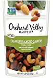 ORCHARD VALLEY HARVEST Cranberry Almond Cashew Trail Mix, Non-GMO, No Artificial Ingredients, 1.85 oz (Pack of 14)