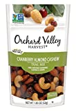 ORCHARD VALLEY HARVEST Cranberry Almond Cashew Trail Mix, Non-GMO, No Artificial Ingredients, 1.85 oz (Pack of 14) Review