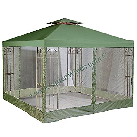 OPEN BOX - 12 x 12 Universal Replacement Canopy Top Cover and Mosquito Netting Set (  sc 1 st  Amazon.com & Amazon.com : OPEN BOX - 12 x 12 Universal Replacement Canopy Top ...