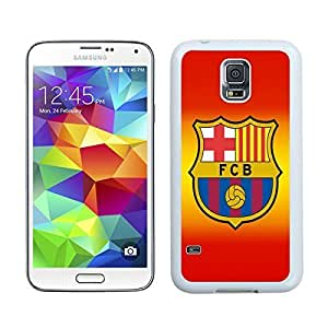 Special Custom Samsung Galaxy S5 Case Barcelona 4 White Personalized Picture Samsung Galaxy S5 i9600 Phone Case