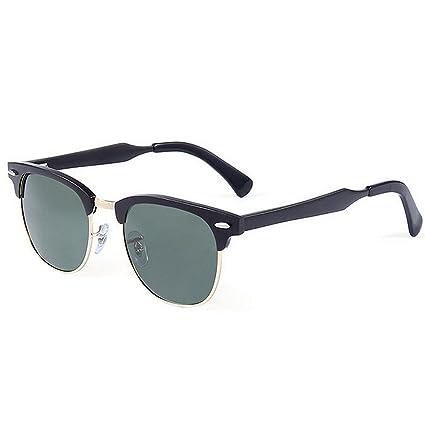 Ultra ligero para hombre Gafas de sol deportivas para hombres Marco de aluminio y magnesio Gafas