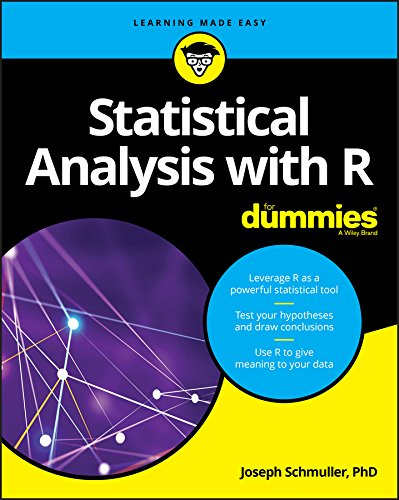 Statistical Analysis with R For Dummies (For Dummies (Computer/Tech)) cover
