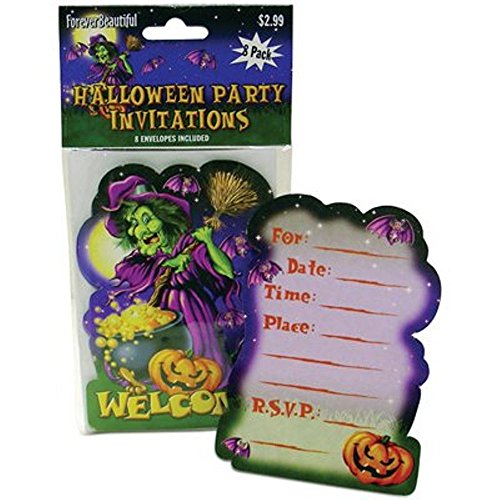 Halloween Party Invitation with Envelope (Pack of 24) Halloween Party Invitation (Halloween Ideas For Adults Party)