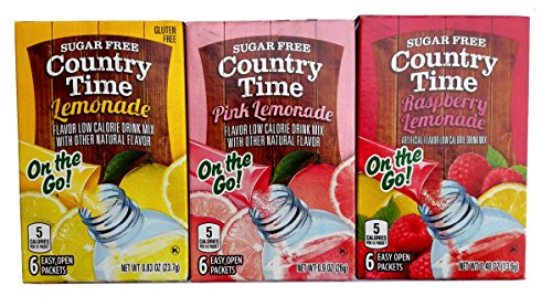 Country Time Lemonade Singles To Go