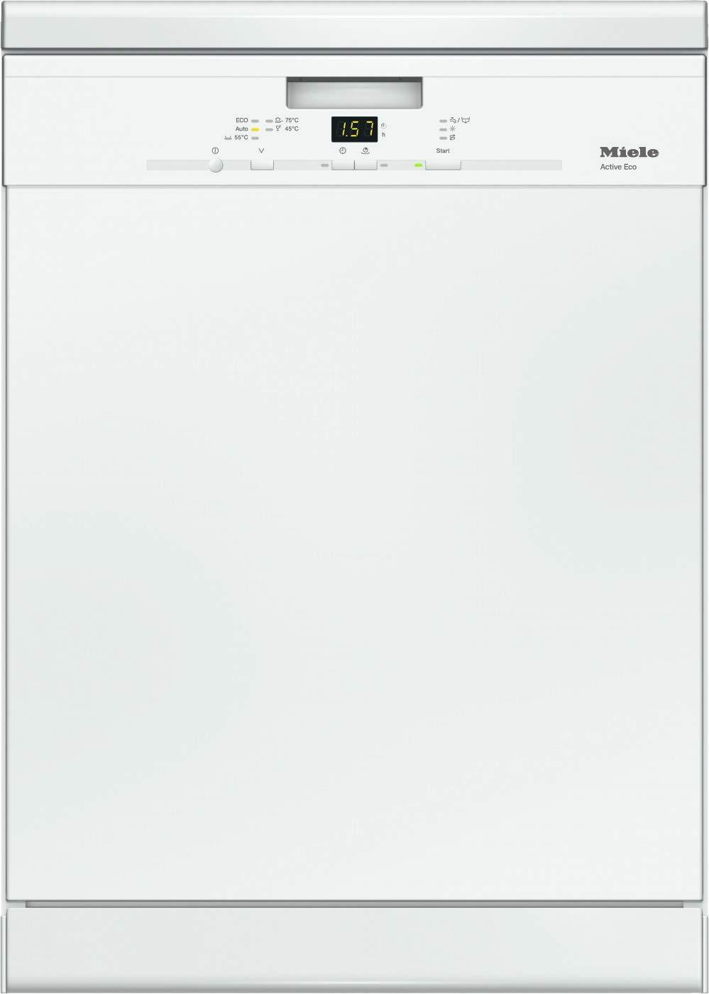 14 Ma/ßgedecke A++ Brillantwei/ß 5 Sp/ülprogramme Miele G 4310 SCU Active ECO Unterbaugeschirrsp/üler mit Besteckschublade Comfort Korbgestaltung 266 kWh 46 dB