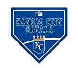 "Kansas City Royals MLB 9.25""x9.25"" Home Plate Street Sign"