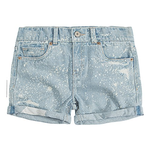 (Levi's Girls' Big Girlfriend Fit Shorty Shorts, Kingston, 8)