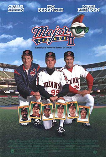 Decorative Wall Poster Major League 2 POSTER Movie (27 x 40 Inches - 69cm x 102cm) (1994)