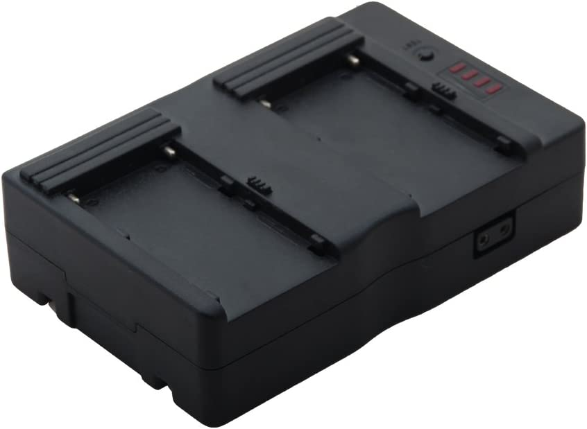 V-Mount V Lock Battery Charger DC Power Supply Dual Channel for Sony Camera
