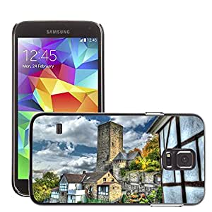Hot Style Cell Phone PC Hard Case Cover // M00168983 Blankenstein Castle Hattingen Bochum // Samsung Galaxy S5 S V SV i9600 (Not Fits S5 ACTIVE)