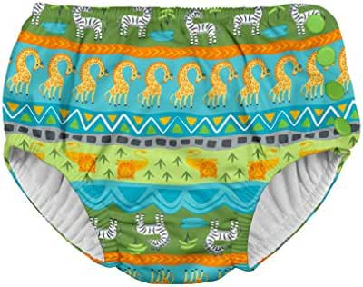 i play. Baby Boys' Snap Reusable Absorbent Swim Diaper-mm