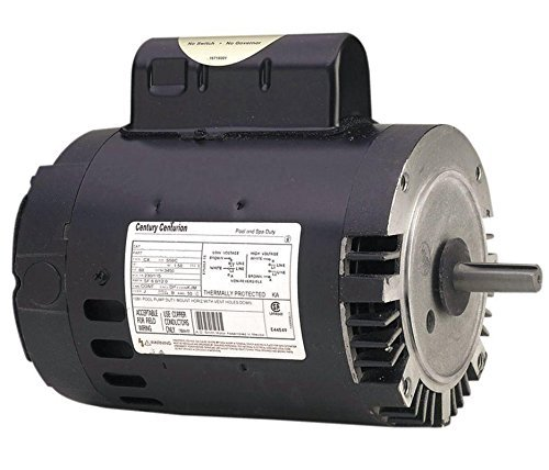 Pool Pump Motor, 1 HP, 3450 RPM, 115/230VAC by Century [並行輸入品] B018A3POG8