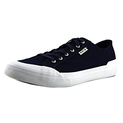 HUF Men's Classic Lo Navy Canvas Ankle-High Skateboarding Shoe - 8M