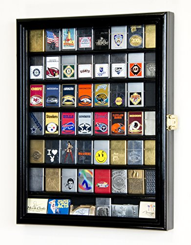 (sfDisplay.com, Factory Direct Display Cases 56 Zippo Lighter Display Case Cabinet Holder Wall Rack)