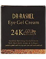 كريم جيل للعين من د. راشيل، يزيل الهالات السوداء والتجاعيد وانتفاخات الجفون السفلية، يحتوي على ذهب عيار 24 قيراط، 20 مل