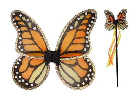 Monarch Wings & Wand Set ()