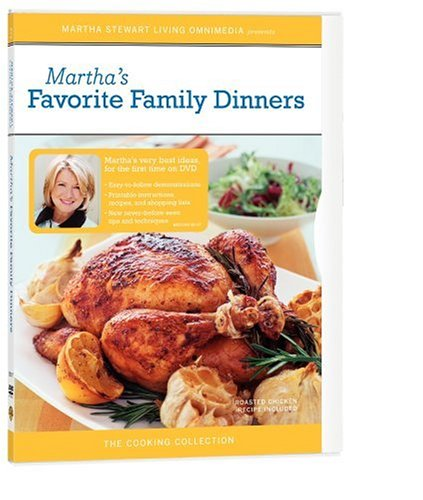 - The Martha Stewart Cooking Collection - Martha's Favorite Family Dinners