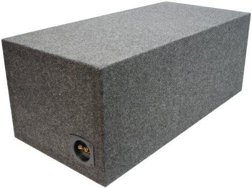 "ASC Dual 12"" Subwoofer Kicker Square L3 L5 L7 Vented Port Sub Box Speaker Enclosure"