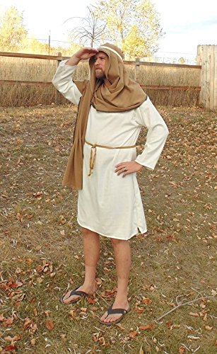 Men's LG Shepherd Costume by Fru Fru and Feathers Costumes & Gifts