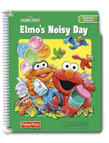 PowerTouch Learning System Book and Cartridge: Elmo's Noisy Day (Cricket Travel Cartridge)