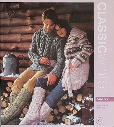 RYC Classic Winter - Book Six - 18 Designs in Soft - Tweed Soft Rowan