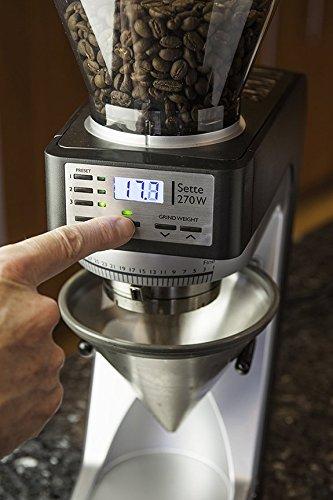 Baratza Sette 270W - Conical Burr (with Grounds Bin and built-in PortaHolder) by Baratza (Image #5)