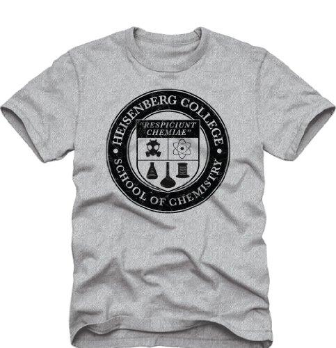 Breaking Bad - Heisenberg College T-Shirt Size XXL