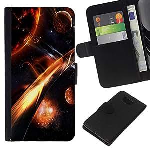 All Phone Most Case / Oferta Especial Cáscara Funda de cuero Monedero Cubierta de proteccion Caso / Wallet Case for Samsung ALPHA G850 // Firey Plantes