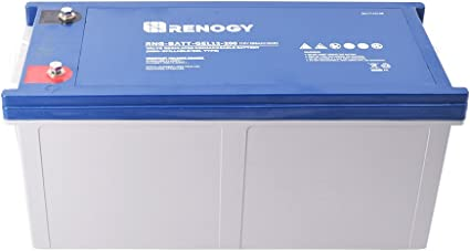 Offgridtec 200 Ah gel battery 12 V solar battery particularly cycle resistant.