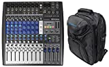 #5: Presonus StudioLive AR12 USB Hybrid Live Sound/Studio Recording Mixer+Backpack