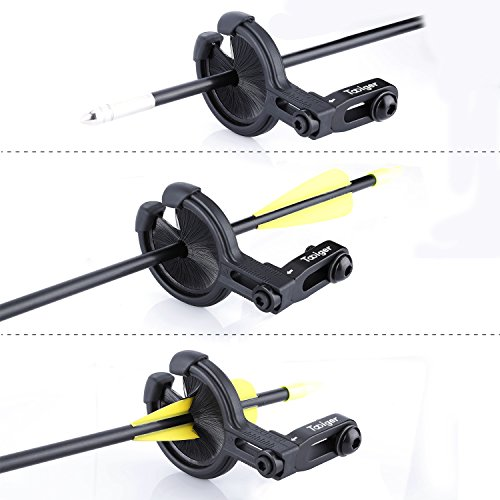 Review Tabiger Whisker Biscuit Kill Shot Arrow Rest for Compound Bow Hunting. Left and Right Hand are Available – Black