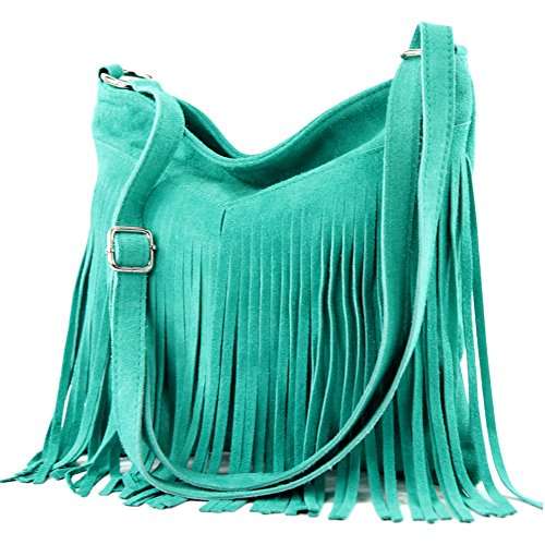 Italian handbag shoulder bag shopper Women's bag real suede leather bag T02 T145 T