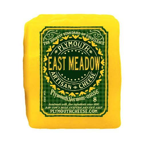 East Meadow Cheddar by Plymouth Artisan Cheese (8 ounce) made in New England