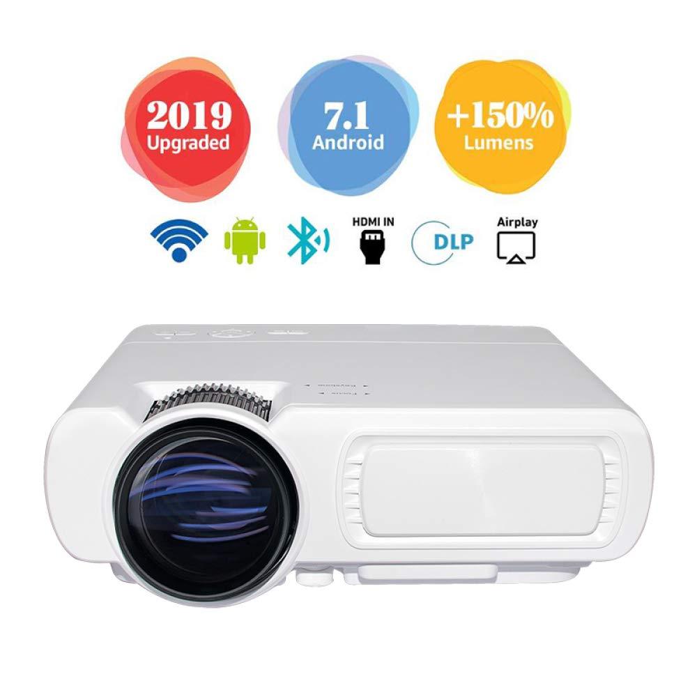 Proyector WiFi Inteligente Proyector Portátil De Cine En Casa ...