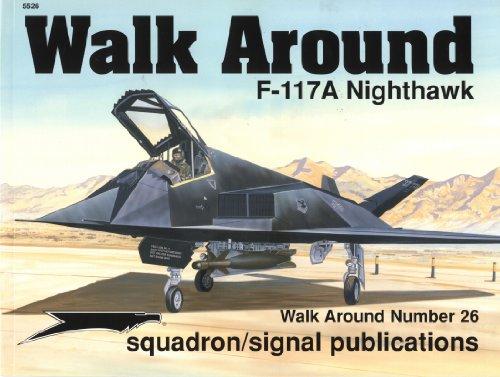 Squadron Signal Publications F-117 Nighthawk Walk Around Book