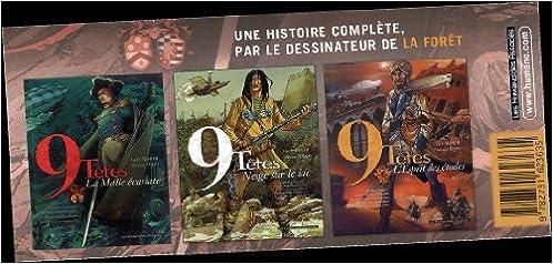 Livre gratuits en ligne 9 têtes : Pack 3 volumes : Tome 1, La Malle écarlate ; Tome 2, Neige sur le lac ; Tome 3, L'Esprit des étoiles pdf, epub