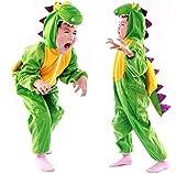 Children Party Costume Cartoon t-rex Costume Funny Clothes Performance Kids Dinosaur Cosplay Costume (M(Height 35.4''-41.3''/90cm-105cm), Dinosaur)