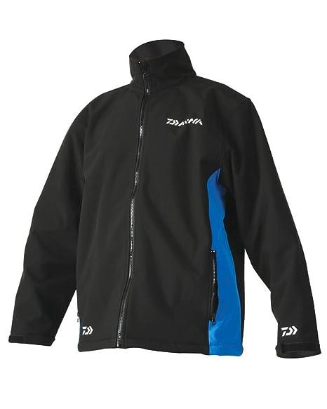 Daiwa New Softshell Fishing Jacket-Blue//Black-All Sizes-New for 2018