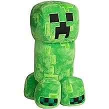 "JINX Minecraft Grand Adventure Creeper Plush Stuffed Toy (Green, 19"")"