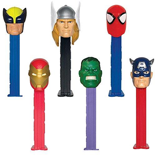 Pez Dspnsr Blstr Marvel Hero
