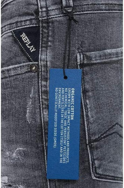 Replay męskie dżinsy Anbass - 32-34: Odzież