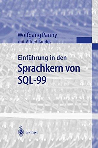 Einführung in den Sprachkern von Sql-99