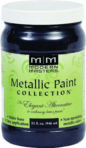 Modern Masters ME700-32 Metallic Black Pearl, 32-Ounce