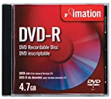 Imation IMN41892 4.7 GB DVD-R Single Sided Write-Once (Single)
