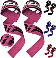 RDX Weight Lifting Straps Padded Wrist Support Non Slip Flex Gel Grip Great for Powerlifting, Bodybuilding, Gy