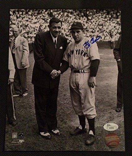 Yogi Berra Babe Yankees Autographed